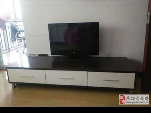 转让液晶电视TCL32,电视柜一套