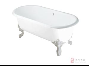 澳门金沙全新科勒歌莱1.75米独立式铸铁浴缸一套