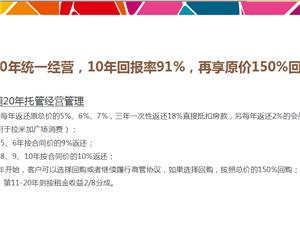 盱眙拉米加欢乐城,十年保底241%回报率!