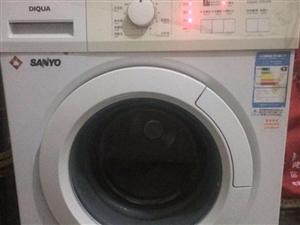 处理滚筒洗衣机三洋的