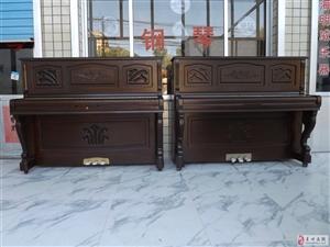 因急用钱,赔钱甩卖十几台韩国进口钢琴英昌、三益钢琴