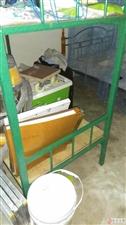 两层铁架床九成新