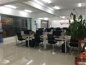 全套办公设备电脑桌椅空调出售转让,另外办公室出租