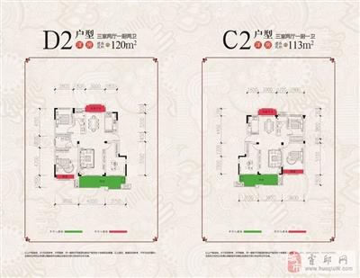 D2C2内洋房