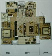 和昌盛世城邦(和昌盛世城邦)3室2厅2卫94万元