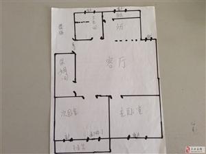长虹小区4楼85平精装带储双气双证售25万