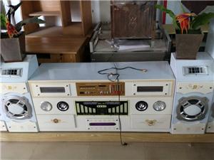 多功能电视柜带音箱功放话筒