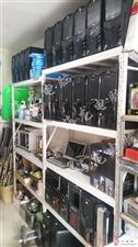 海龙电脑八年老店长年高价回收、批发零售各种配置二手