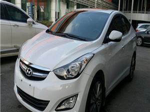 現代朗動白2015款1.6自動DLX尊貴