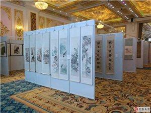 立欣生产各种规格易拆易卸书画展板 展览展板 标摊展