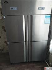出售九成新九本商用双开门冰箱