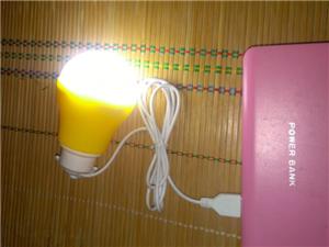 USb移动电灯