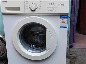 滚筒洗衣机九成新