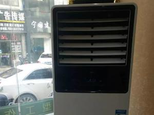 理发店9成新立式空调出售