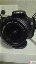 单反相机佳能600D套机99成新无拆无修全部原装,几乎全新。带相机包、储存卡,读卡器,数据线,充电器...