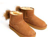转手UGG  新款羊毛皮一体雪地靴女中筒
