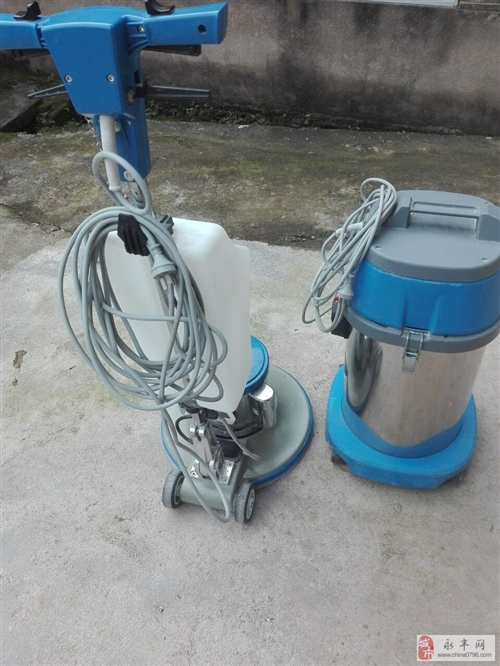 9成新的保洁洗地机和吸尘器便宜处理