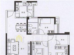 3室2厅2卫107万元