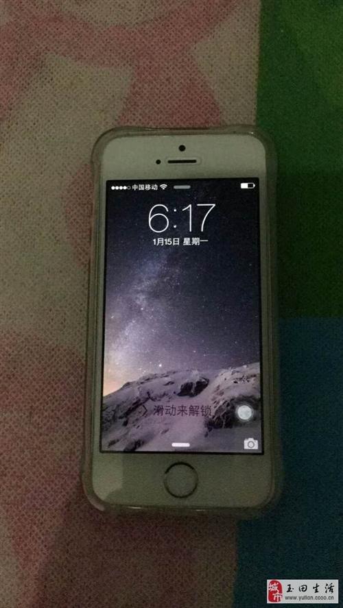 出售蘋果5s手機,國行移動聯通雙4g