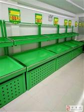 低价转让九成新水果货架蔬菜货架果蔬货架果蔬推头