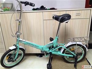 出售16寸永久牌折叠自行车(全新)!