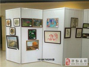 云南书画艺术展专用八棱柱展板出售批发