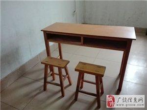处理九成新课桌椅多套