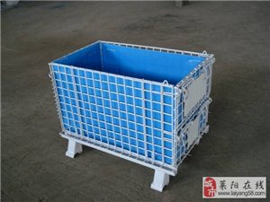 厂家生产折叠仓储笼、仓储货架、隔离网、钢托盘