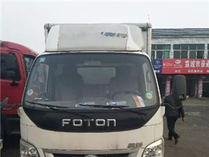 出售2014年9月4米2奥铃厢式货车