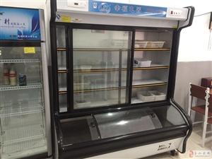 九成新两米点菜柜出售