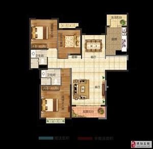 三室��d�尚l  建筑面�e:138.21平米