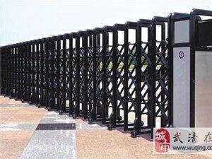 天津安裝伸縮門 伸縮樓梯 道閘安裝