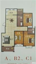 天赐花园毛坯房3室2厅带露台一手房程序可按揭