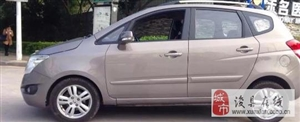 现有一辆长安CX20小越野,银色···
