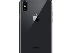 一台顶账全新国行未激活iphone x