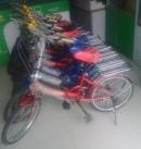 折叠自行车特价100块钱处理,我处有7辆