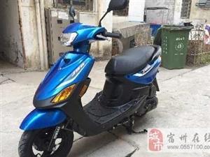 帮朋友出售正品株洲雅马哈巧格摩托车