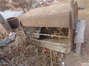 出售自家工地盖房班洋灰水泥搅拌机2台~有意者联系