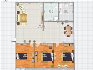 雍康西区3室2厅2卫32万元简装可按揭
