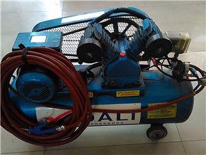 出售95成新气泵空气压缩机一台带20米长管子