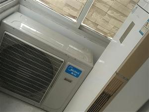 72W美的空调,85成新,,3匹开店首选