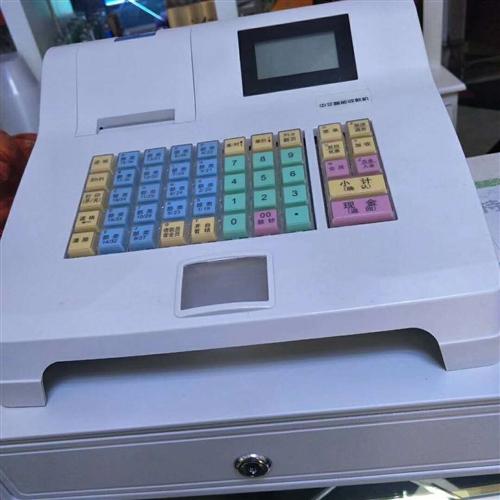 新买的电子收款机低价出售