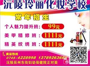 澳门金沙玲丽化妆学校常年招生!!!