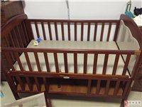 婴儿床(尺寸大,成色新)