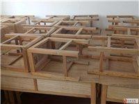 辅导班用双人课桌椅低价转让
