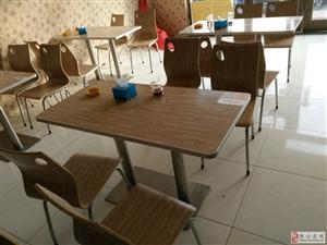 出售九成新饭店桌椅8套