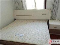 出售1.8米*2米大床加床墊