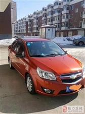 同事出售雪佛兰乐风2009款,橘红色,1.4手动,里程12.5万公里