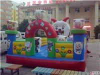 建水出售八成新兒童玩具(蹦蹦床、充氣沙池、秋千)