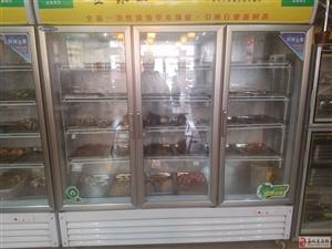串串香二手展示柜,冰柜,餐具低价出售